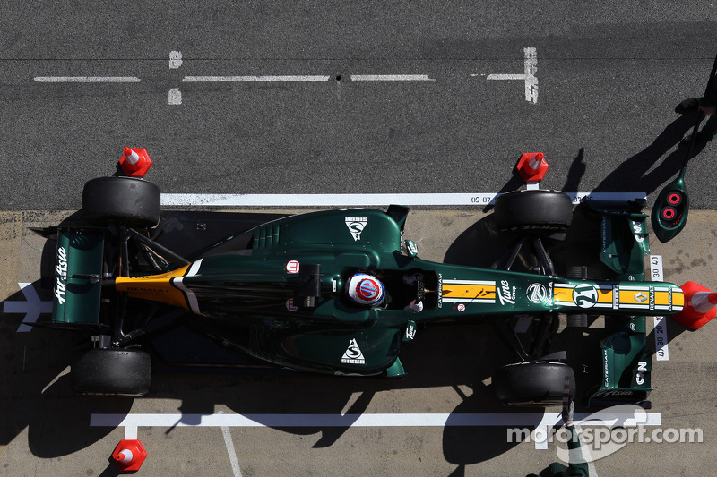 Caterham Barcelona testing -  Day 2 report