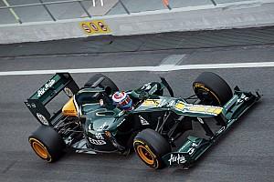 Formula 1 Caterham Barcelona test II -  Day 1 report