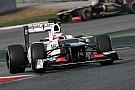 Sauber Barcelona test II -  Day 4 report