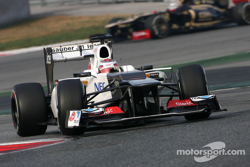 Sauber Barcelona test II -  Day 4 report