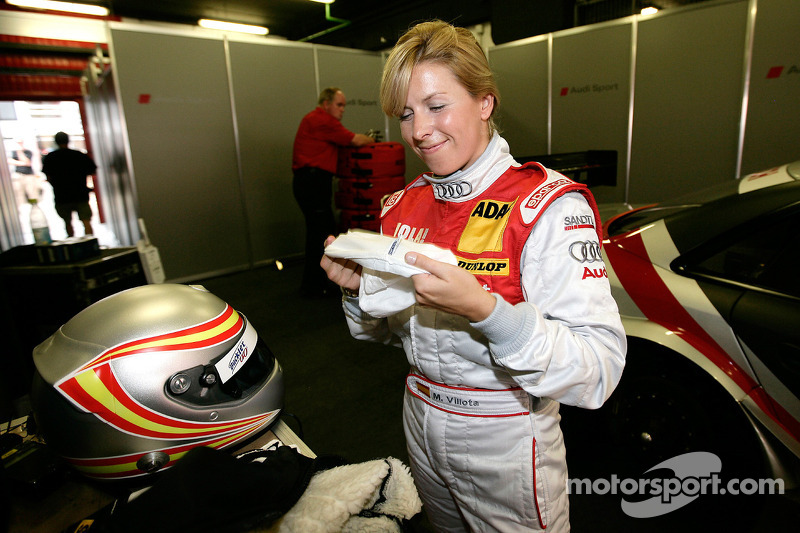 Maria de Villota signs with 2MB Sports Management as she targets a career in F1
