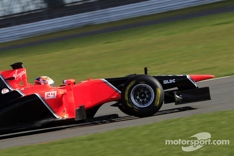 Marussia F1 Team's MR01 passes final crash test