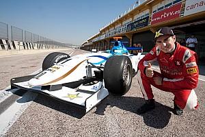 MotoGP Jorge Lorenzo tries out a GP2 car of  Barwa Addax Team