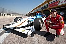Jorge Lorenzo tries out a GP2 car of  Barwa Addax Team
