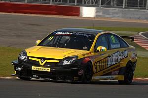 BTCC Newsham shocks by leading official testing