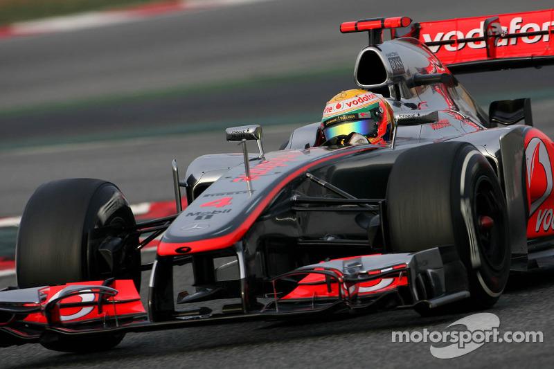 Hamilton leads Malaysian GP practice one on Sepang circuit