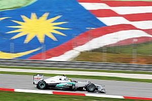 Formula 1 Mercedes Malaysian GP - Sepang Friday report