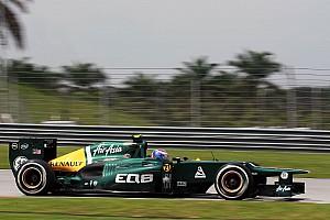 Formula 1 Caterham Malaysian GP - Sepang Friday report