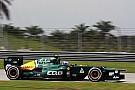 Caterham Malaysian GP - Sepang Friday report