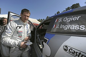 WRC Volkswagen drivers Ogier and Abbring look forward to Portugal