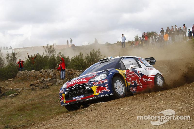 Hirvonen earns first win with Citroen at Rally de Portugal