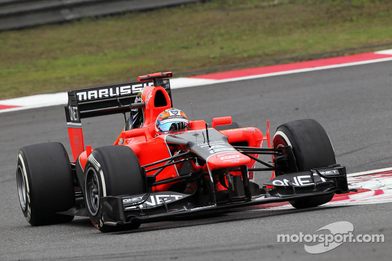 Marussia Chinese GP - Shanghai Friday report