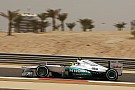 Rosberg sets fastest lap time on dusty Friday in Bahrain