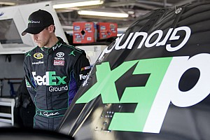 NASCAR Cup Kansas race winner Hamlin and other Toyota drivers talk about the race