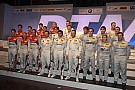 2012 DTM calendar and driver line-up