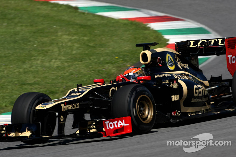Grosjean and Kobayashi equally fast on day 2 at Mugello