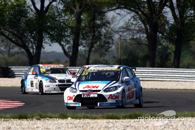 Team Aon Race of Hungary event summary
