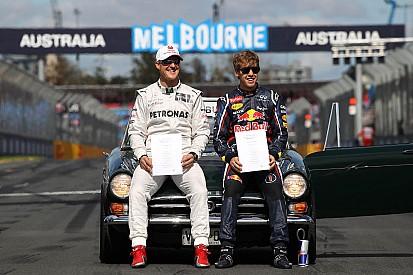 Vettel defends Schumacher after Senna crash