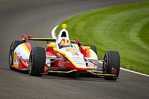 IndyCar Team Penske Indy 500 practice day 1 report
