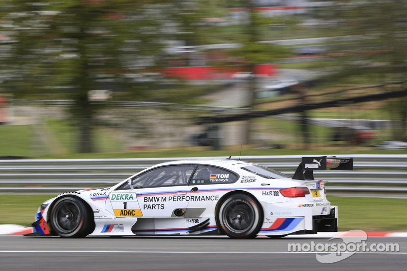 Tomczyk fastest as series takes on Brands Hatch Indy circuit