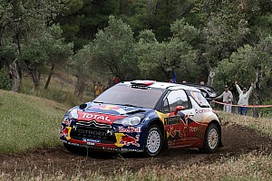 WRC Citroën drivers start strong in Acropolis Rally
