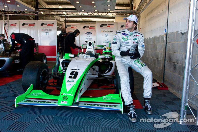 Marinescu powers to Nurburgring pole