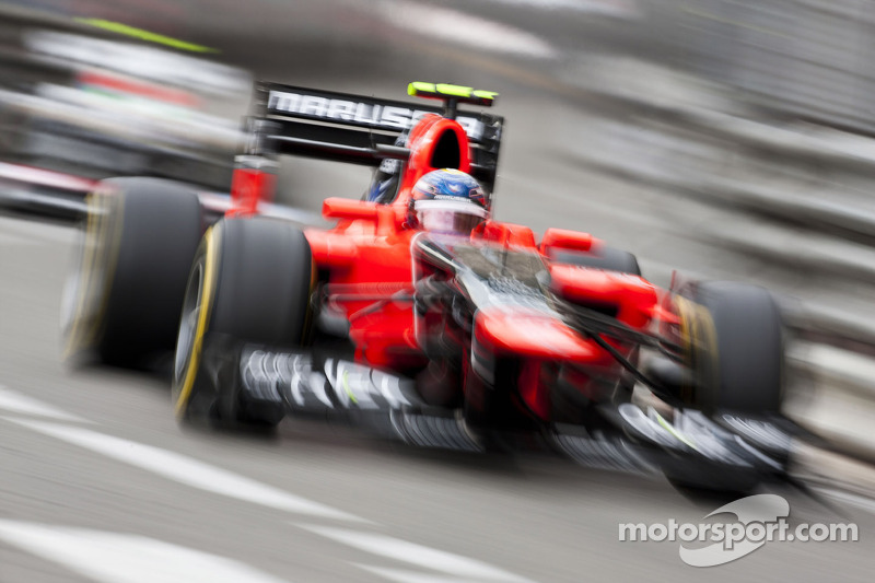 Timo Glock matches year's best finish for Marussia at Monaco