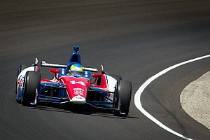 IndyCar Damaged front wing takes Conway out of Indy 500