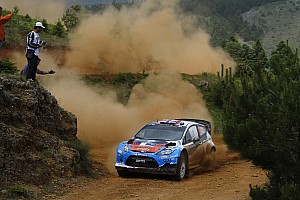 WRC Elsewhere Ford drivers comment on finale of Acropolis Rally