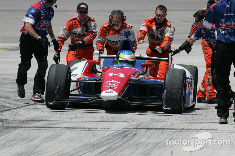Mike Conway qualifies 8th but starts 18th Texas