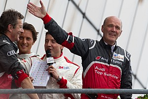 Le Mans Dr. Wolfgang Ullrich looks ahead to Le Mans