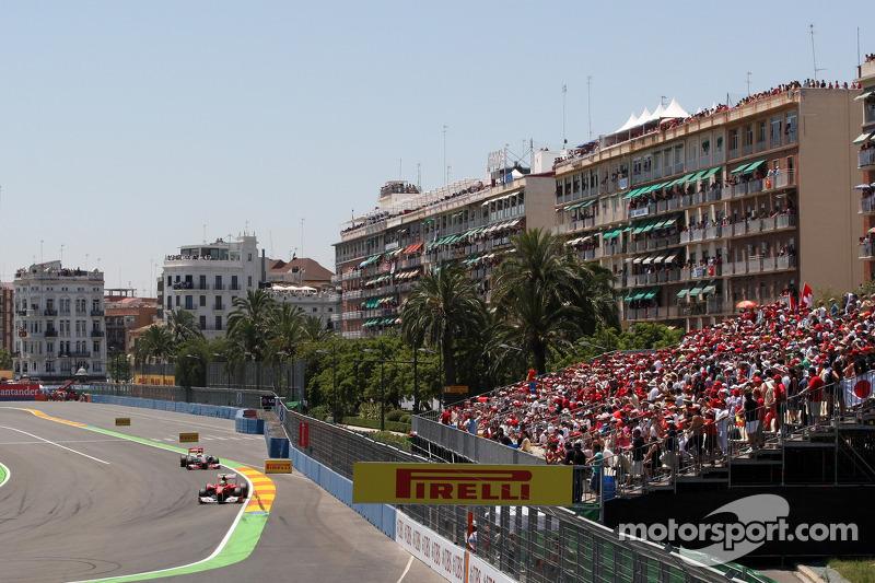 Valencia sells less than 40,000 F1 tickets