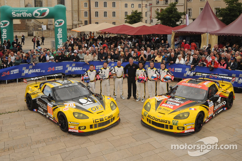 Larbre Competition positive of progress following Le Mans 24 Hours qualifying