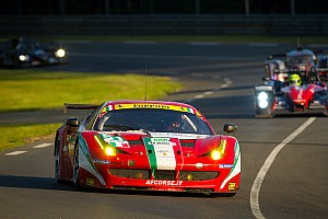 Le Mans GT class - 3 hours to go!