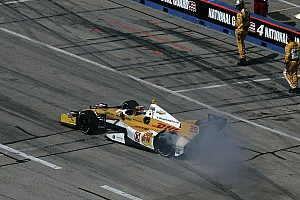 IndyCar Chevrolet teams ready to race under the lights at Iowa Speedway
