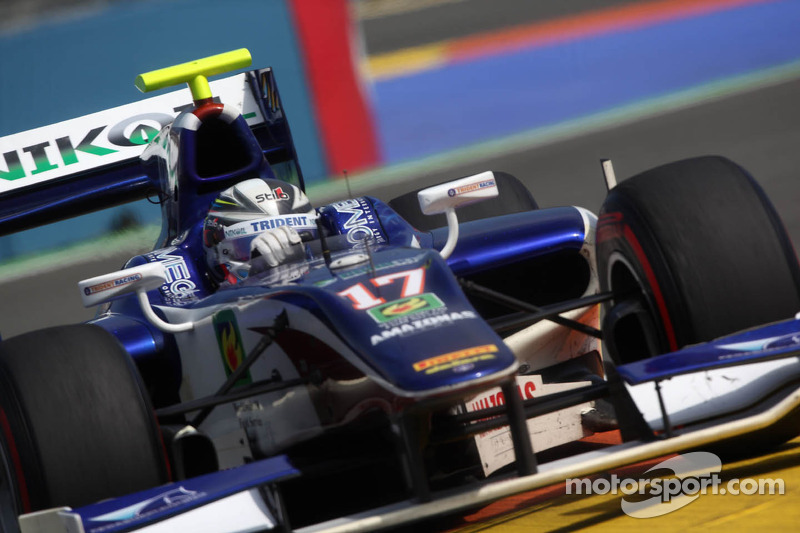 Trident Racing scores points in Race 2 at Valencia