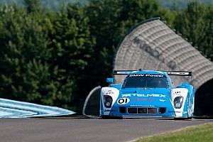Grand-Am Qualifying report Scott Pruett zooms to Rolex Series DP pole position at Watkins Glen