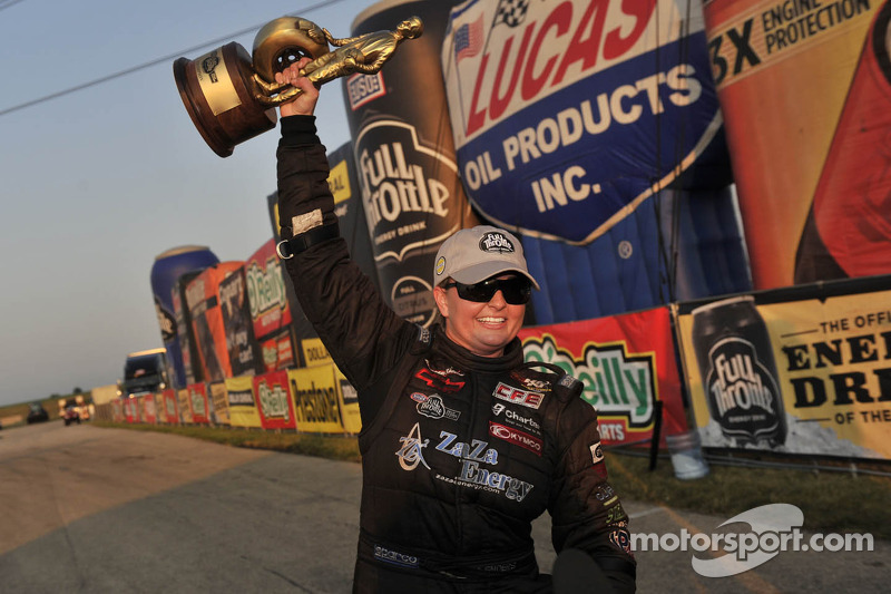 Erica Enders makes history, Brown, Hines, Arend take wins in Joliet