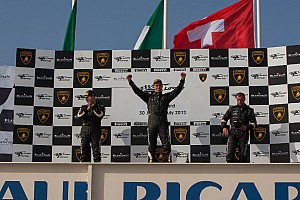 GT Race report Amici claims victory in Lamborghini Blancpain Super Trofeo's Race 1 at Paul Ricard