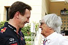 Horner denies claims he could replace Ecclestone