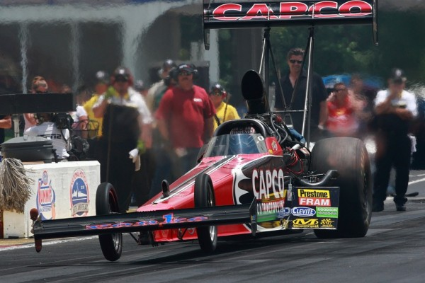 Torrence, Gray, Johnson and Arana pace steamy first qualifying day at Norwalk