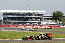Grosjean and Raikkonen have a back and forth race in Silverstone