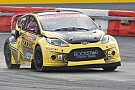 Tanner Foust leads Global Rallycross qualifying in Loudon