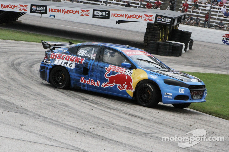 Travis Pastrana gets breakthrough Global Rallycross win at Loudon