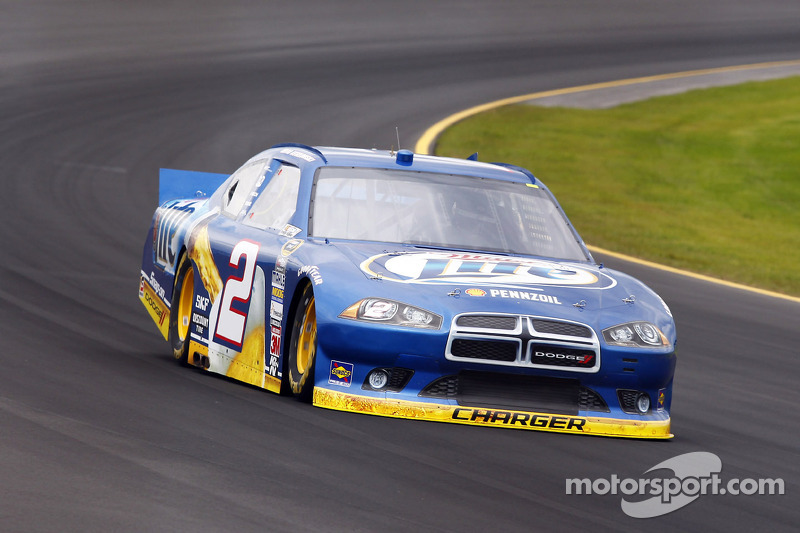 Top-5 day for Keselowski at Loudon, not so good for Hornish