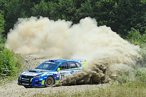 Other rally Race report Subaru driver David Higgins seals Rally America title