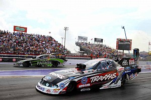 NHRA Qualifying report John Force Racing gets four cars in top half of Funny Car field in Denver