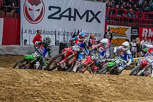 General Special feature Supercross school opens with lesson one - video
