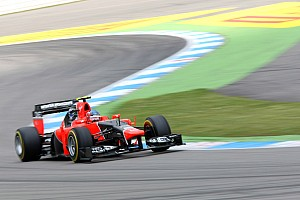 Formula 1 Race report Mixed emotions at  Hockenheimring for Marussia