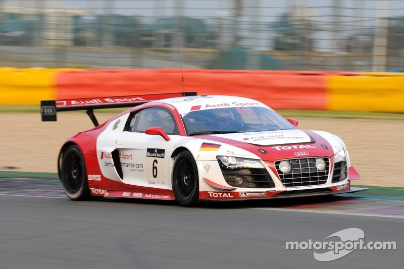 Advantage Audi as Spa 24 Hours approaches dawn